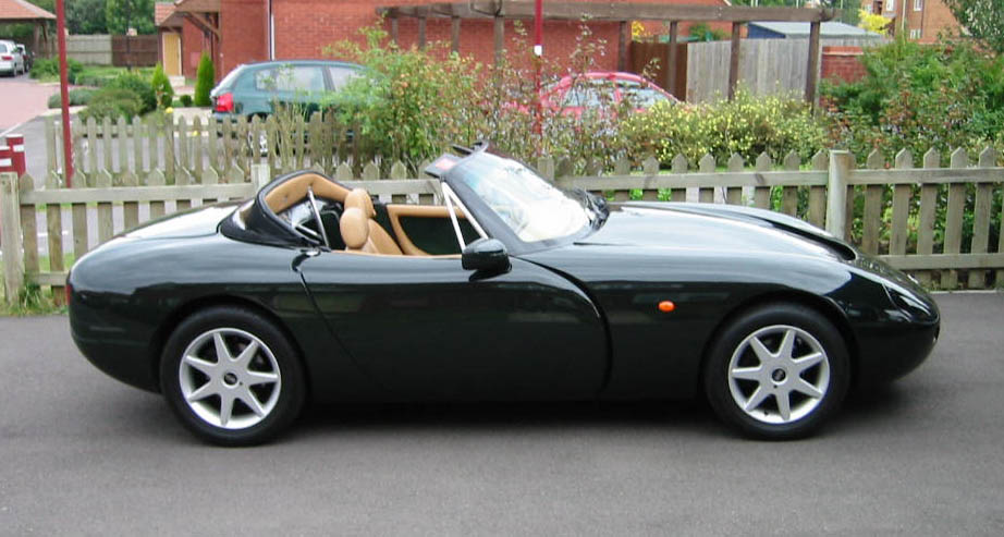 Bri's TVR Griffith 500: